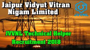 JVVNL-Recruitment-2018