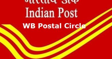 WB Postal Circle Recruitment 2020 – Gramin Dak Sevak (GDS) Vacancy