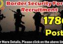 BSF Recruitment Jobs