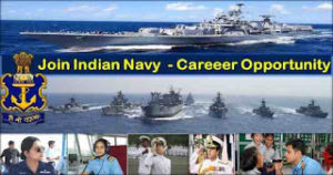 Indian Navy has invited online applications from qualified candidates for the posts of SSC and Permanent Commission Officers.