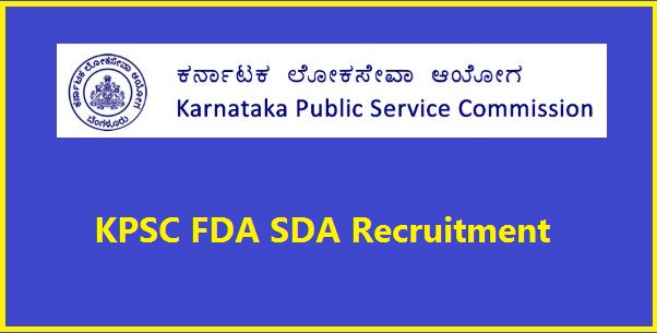 KPSC-FDA-SDA-Recruitment