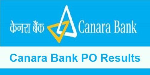 Canara Bank PO