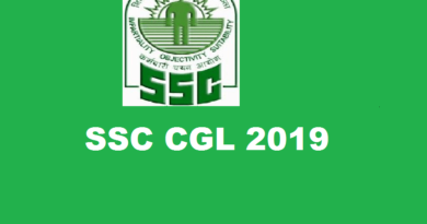 SSC Recruitment 2019 – Combined Graduate Level Examination (CGL) 2019
